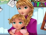 Baby lessons with Anna Frozen